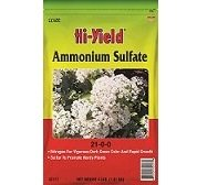 Ammonium Sulfate Soil Amendments Soil Amendments