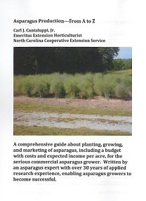 Asparagus Production Guide Grower Accessories Books &  DVDs