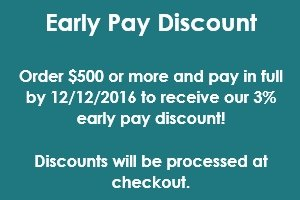 Early Pay Discount!