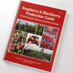 Raspberry and Blackberry Production Guide Grower Accessories Books &  DVDs